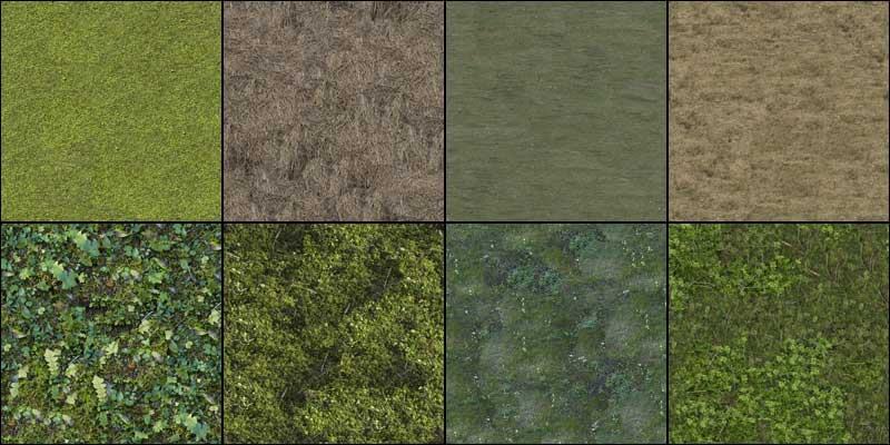 Preview Image Of All Textures Containing This Archive